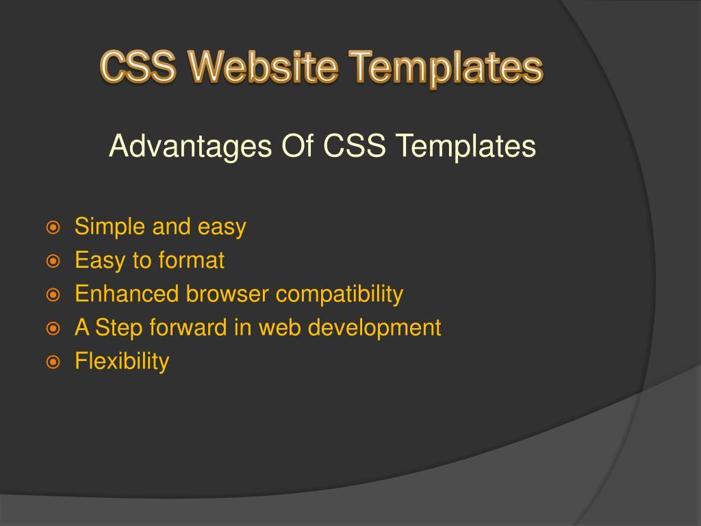 css website templates l.