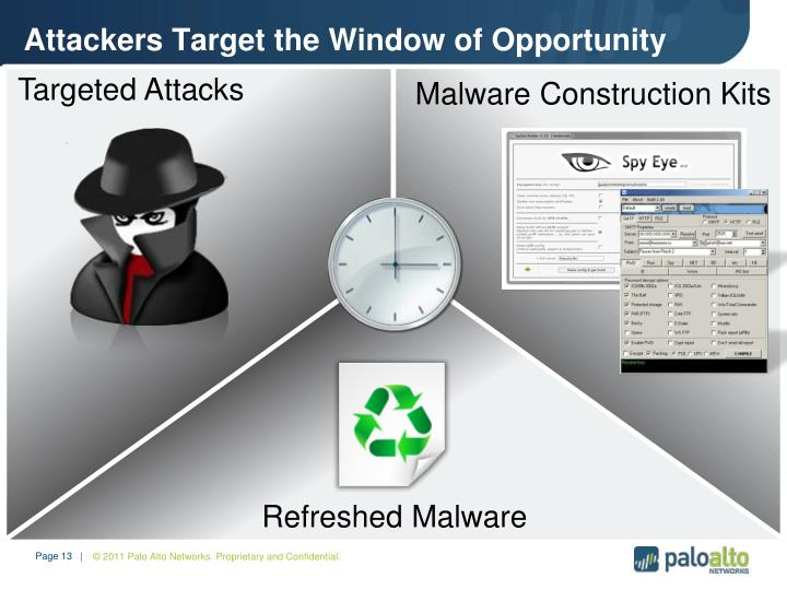 Attackers Target the Window of Opportunity