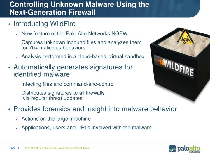 Controlling Unknown Malware Using the