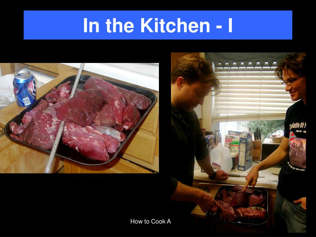 In the Kitchen - I