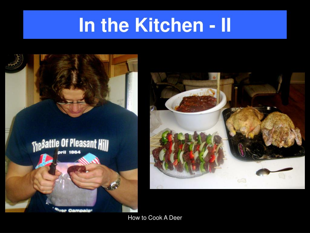 In the Kitchen - II