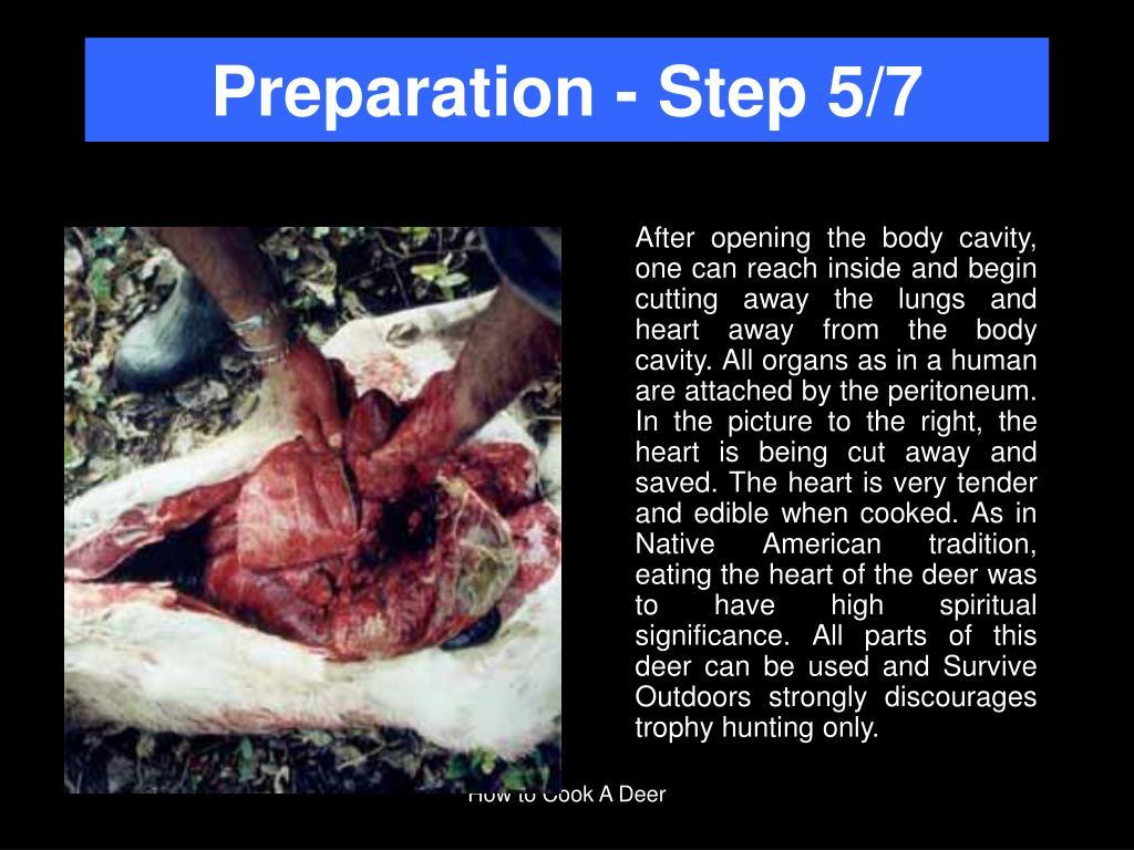 Preparation - Step 5/7