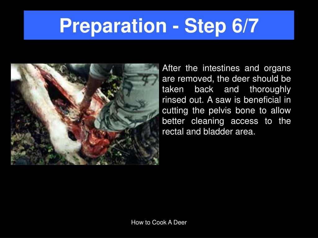 Preparation - Step 6/7