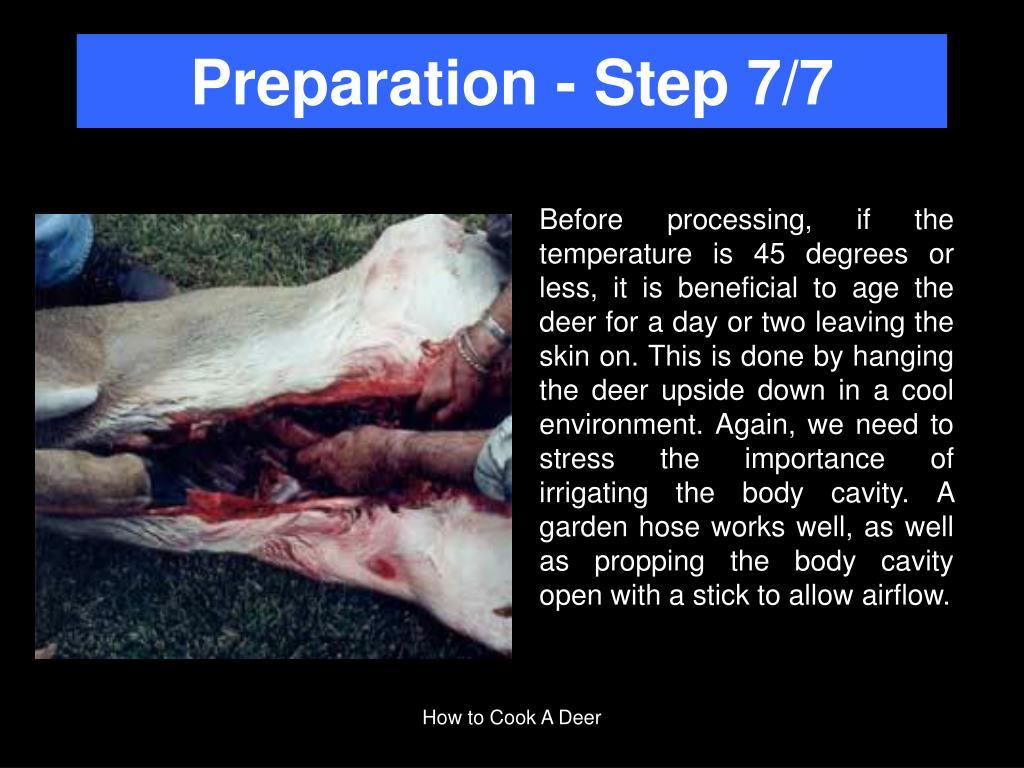 Preparation - Step 7/7