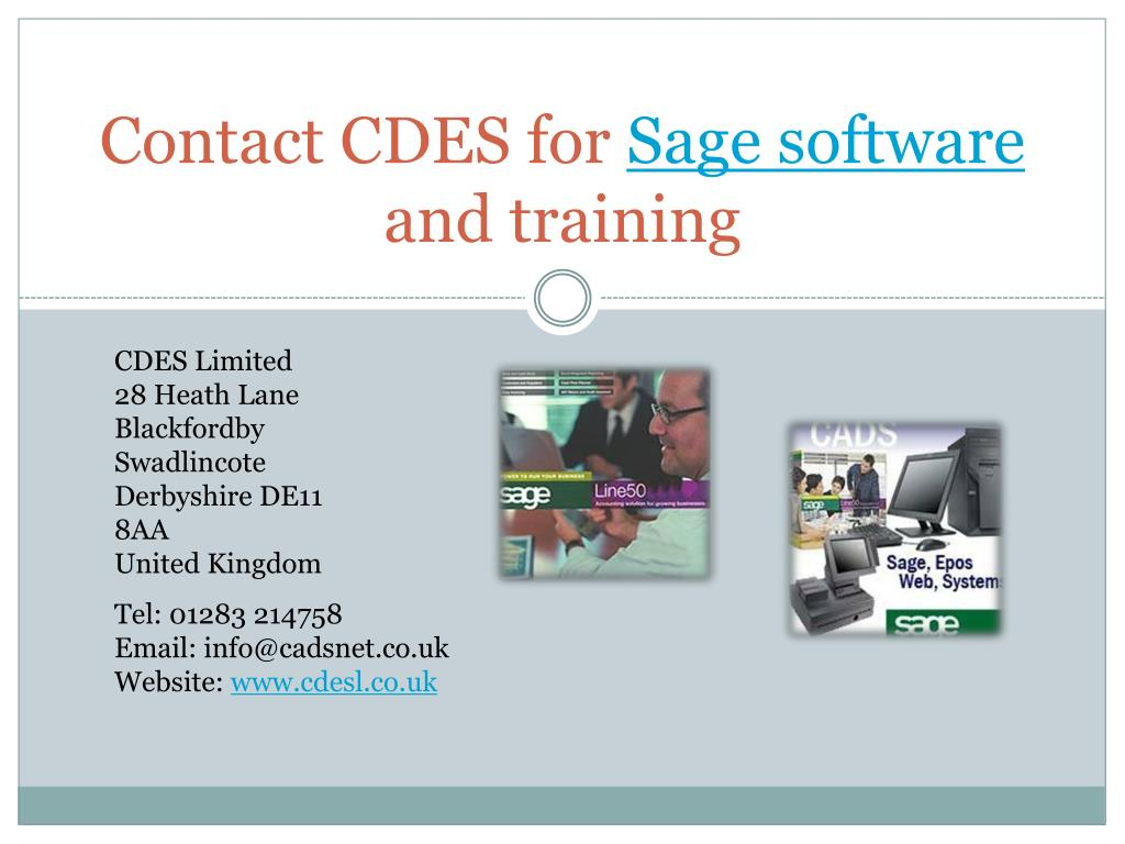Contact CDES for