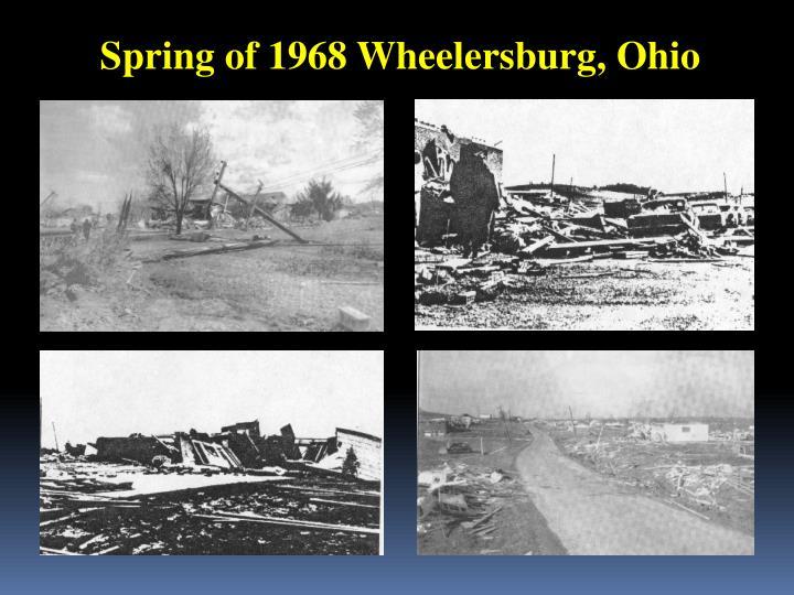 Spring of 1968 Wheelersburg, Ohio