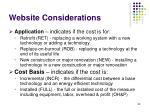website considerations89