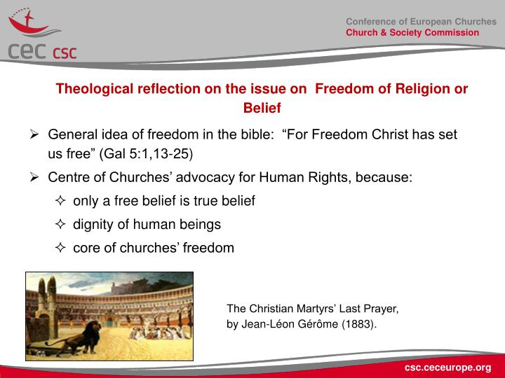 Conference of European Churches