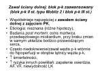 zawa ciany dolnej blok p k zaawansowany blok p k ii st typu mobitz 2 i blok p k iii st1