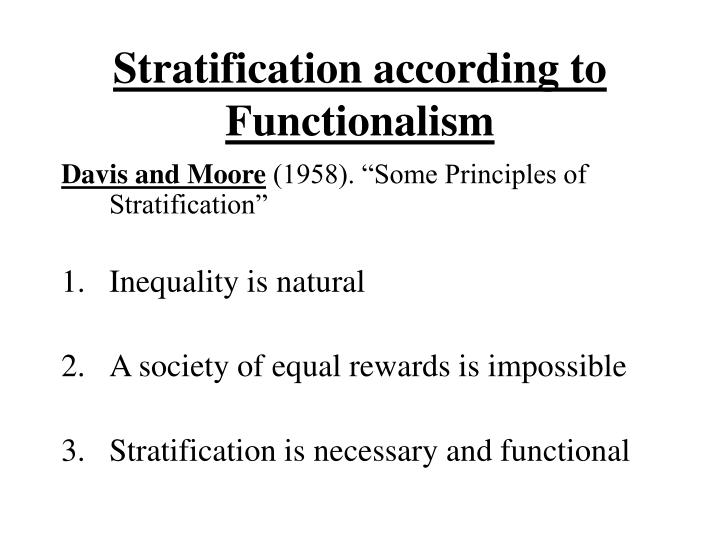 weber and social stratification