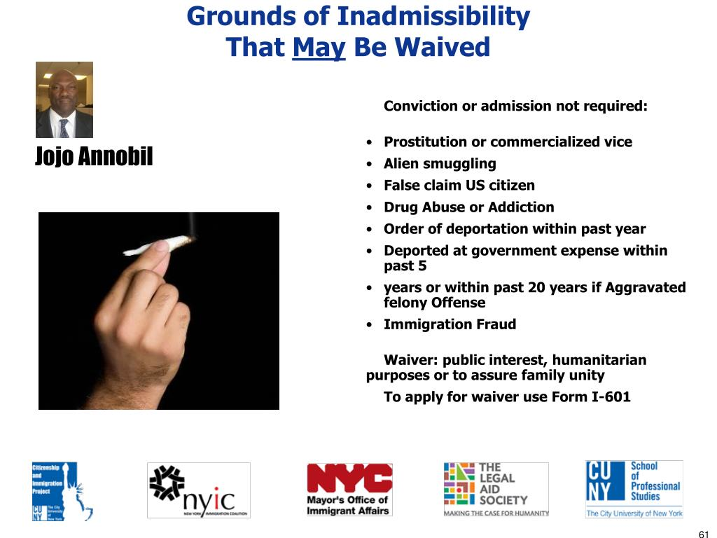 Grounds of Inadmissibility