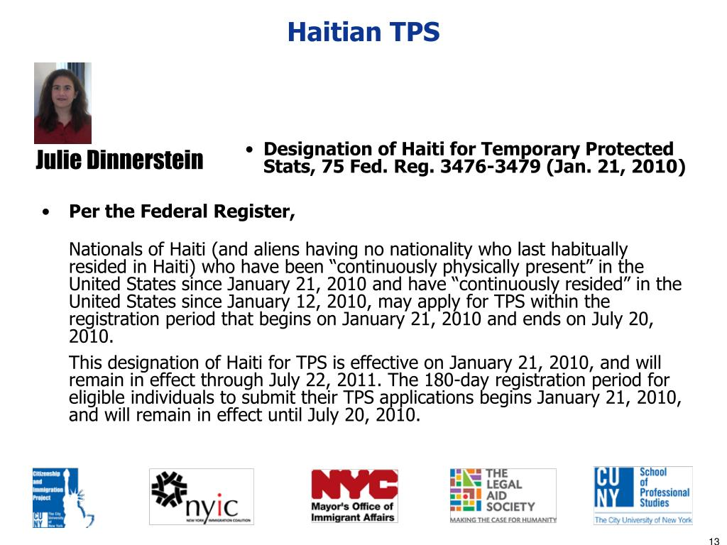 Haitian TPS