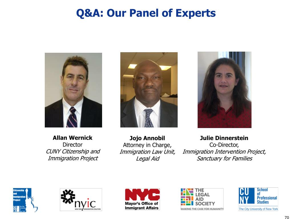 Q&A: Our Panel of Experts