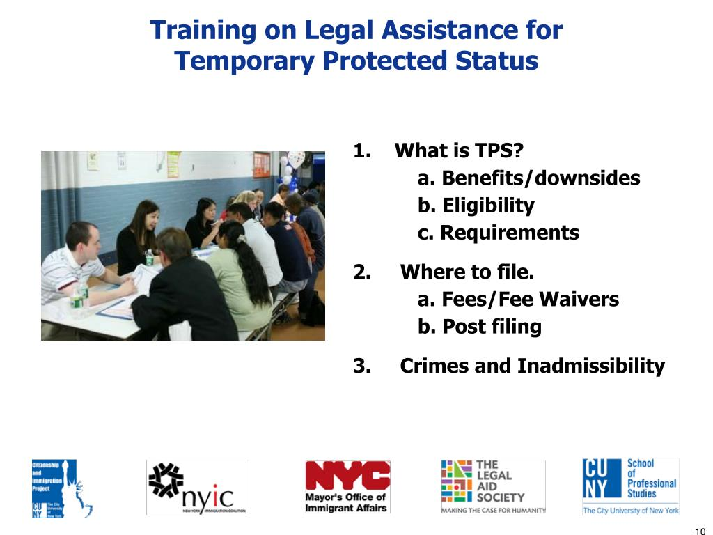 Training on Legal Assistance for