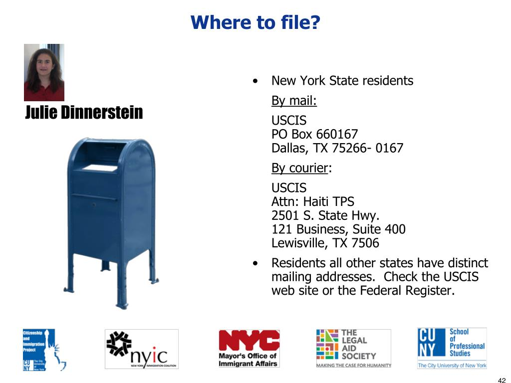 Where to file?