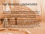 the iriquois houses
