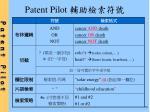 patent pilot10