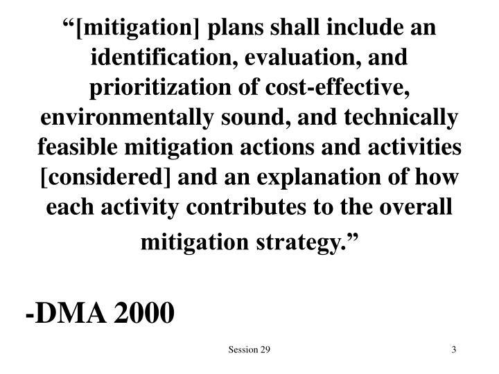 """""""[mitigation]"""