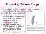 expanding babesia range30