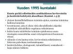 vuoden 1995 kuntalaki