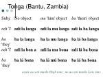 tonga bantu zambia20