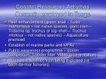 coastal resources activities currently employed in tonga