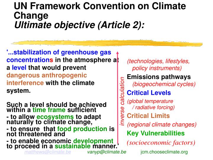 climate change essay framework convention United nations framework convention on climate change here's more info about the climate march  and a link to 352 more photos - highlighting and describing the specific messages of the climate marchers and 'flood wall street' gatherers the following day.
