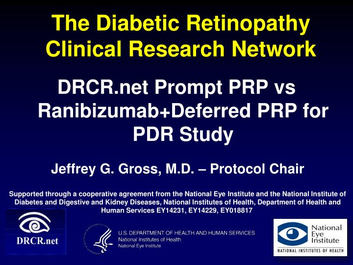 the diabetic retinopathy clinical research network n.