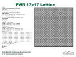 pwr 17x17 lattice
