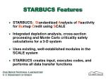 starbucs features