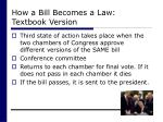 how a bill becomes a law textbook version30