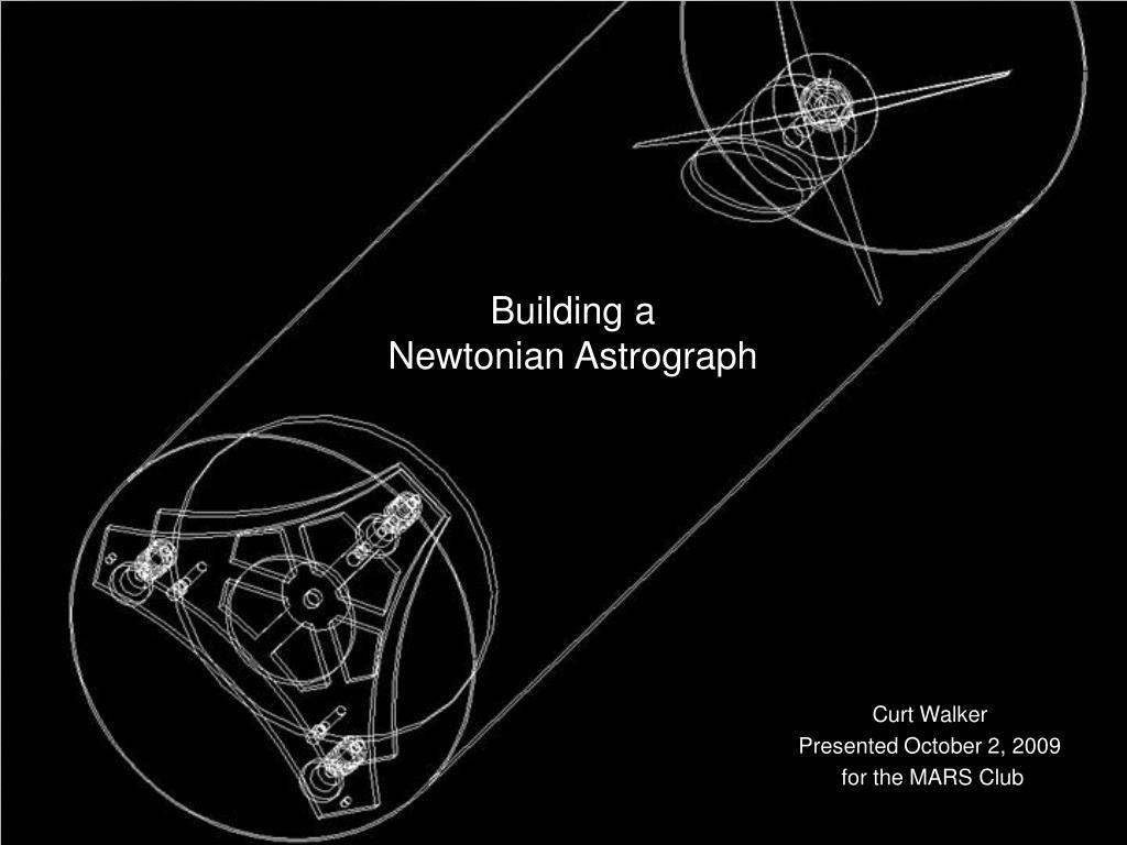building a newtonian astrograph l.