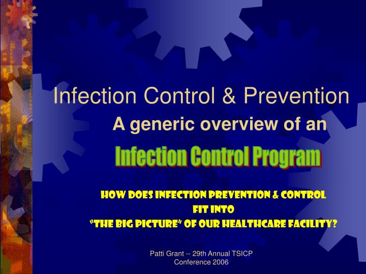 infection control prevention a generic overview of an n.
