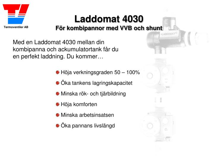 Laddomat 4030