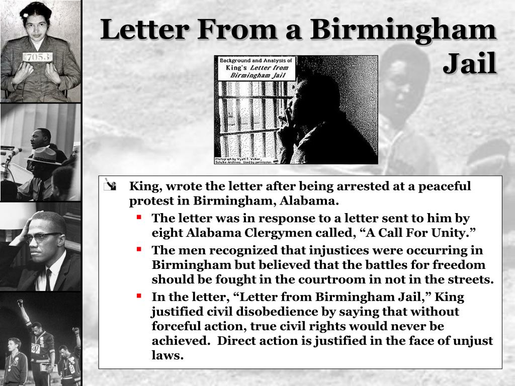 Letter From a Birmingham