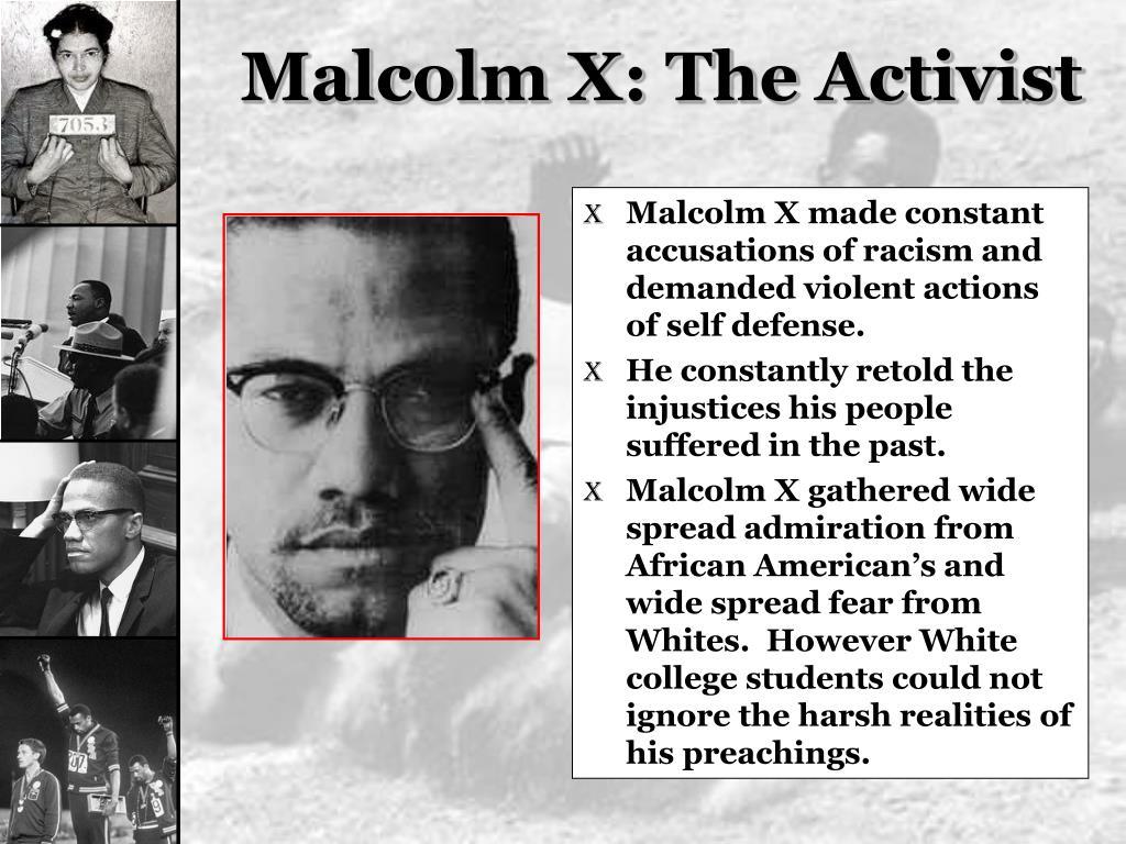 Malcolm X: The Activist