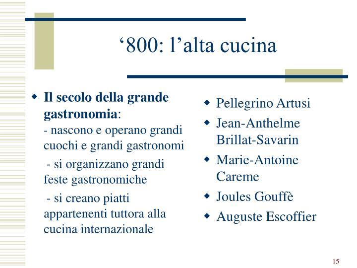 Ppt storia della cucina italiana powerpoint presentation - Alta cucina ricette segrete dei grandi ristoranti d italia ...