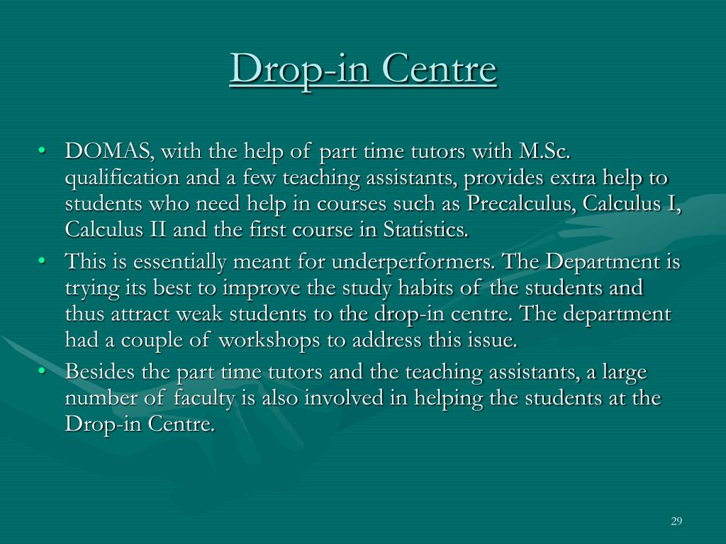 Drop-in Centre