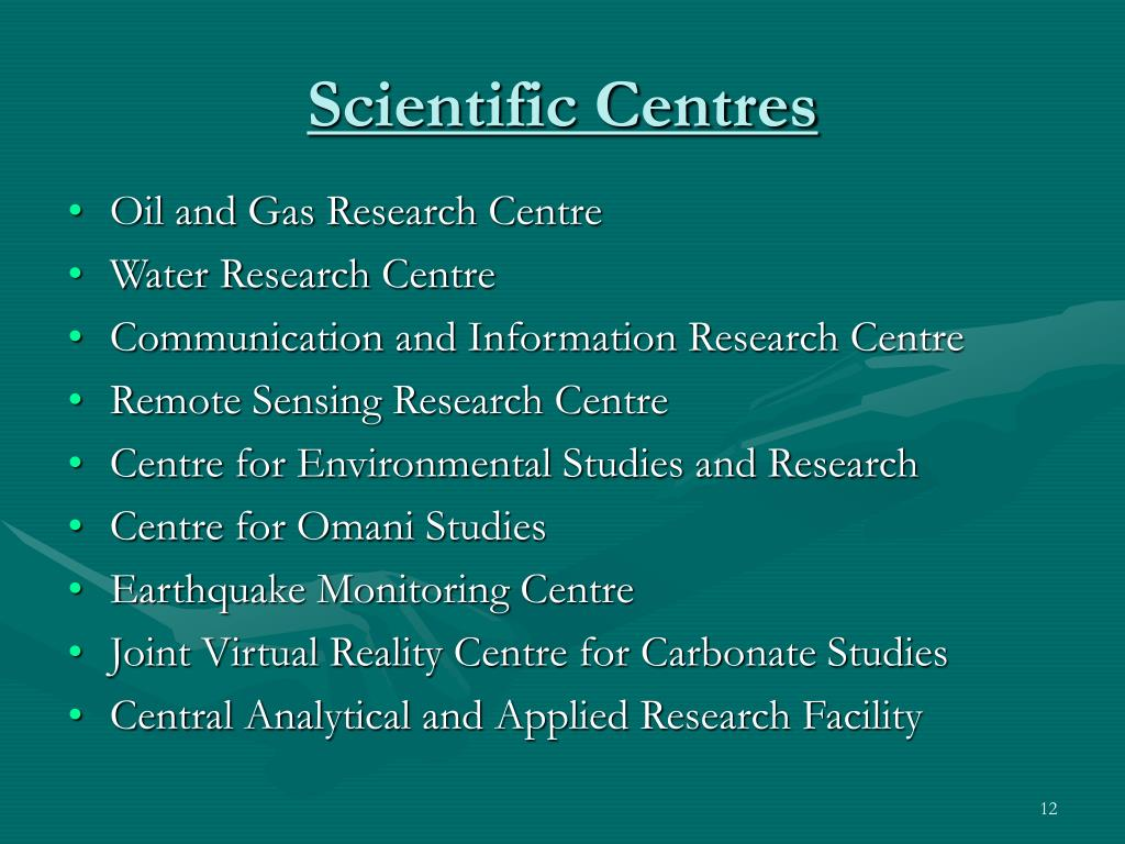Scientific Centres