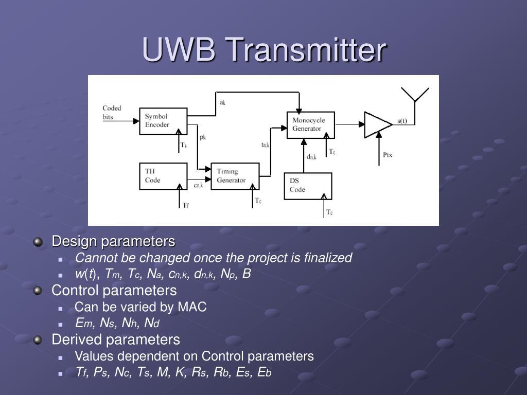 UWB Transmitter