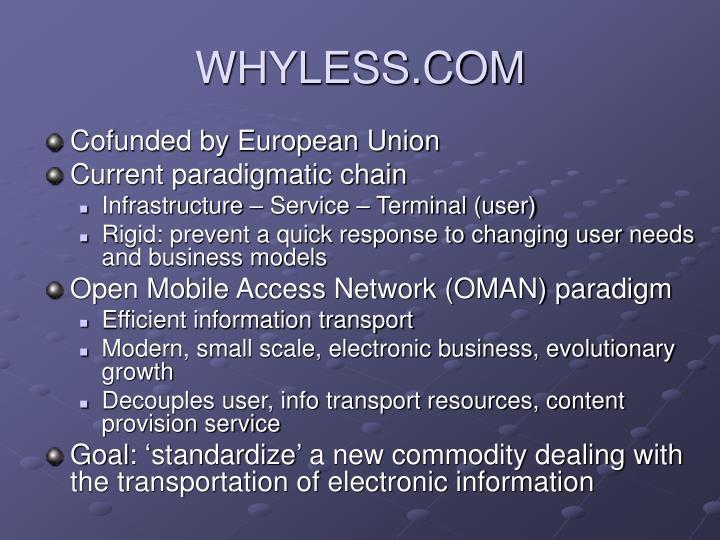 Whyless com