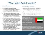 why united arab emirates