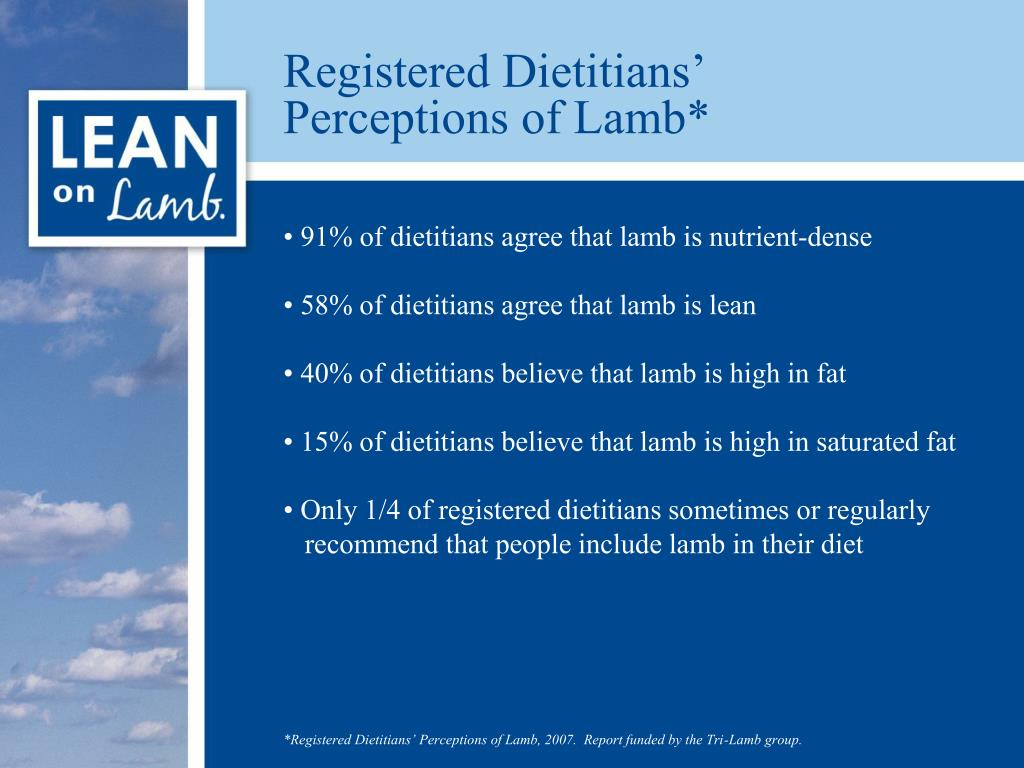 Registered Dietitians'