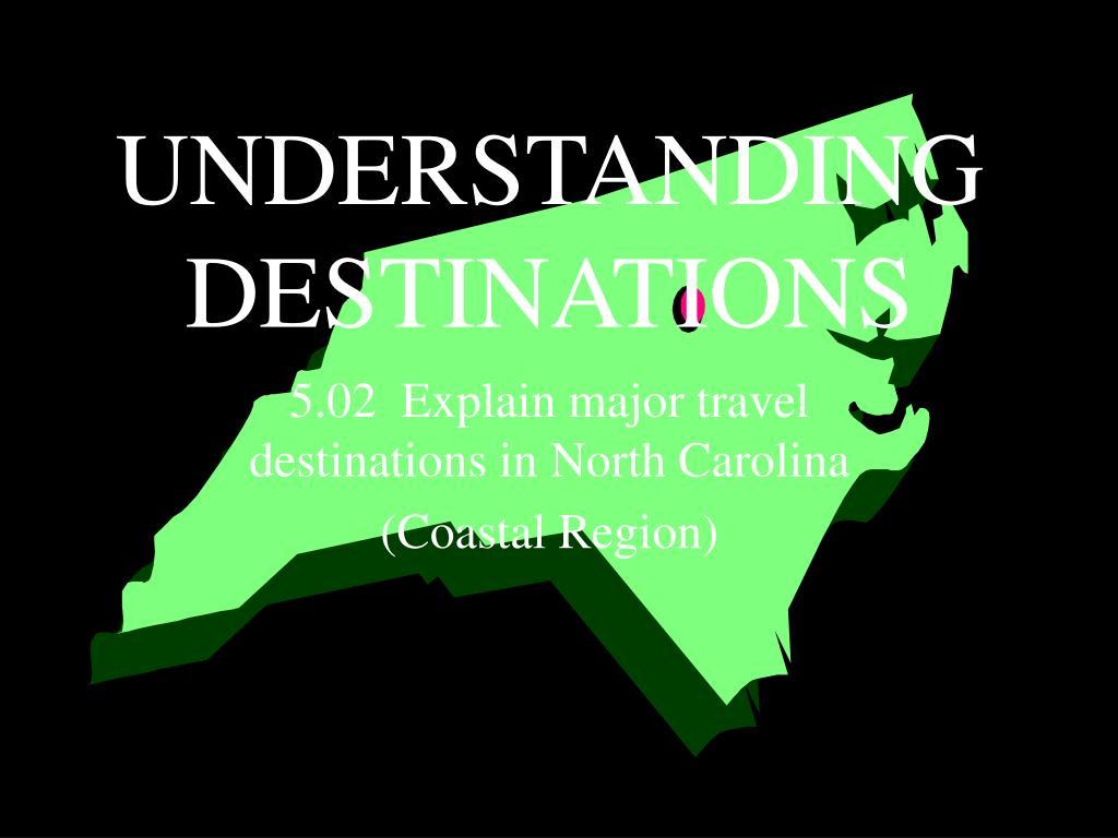 understanding destinations