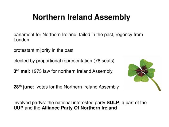Northern Ireland Assembly