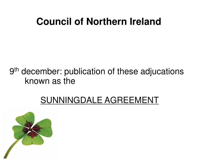 Council of Northern Ireland