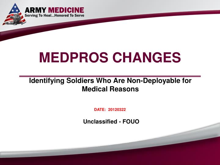 Ppt medpros changes powerpoint presentation id1097720 medpros changes n toneelgroepblik Choice Image