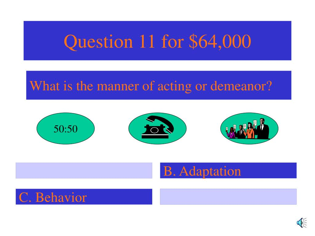 Question 11 for $64,000