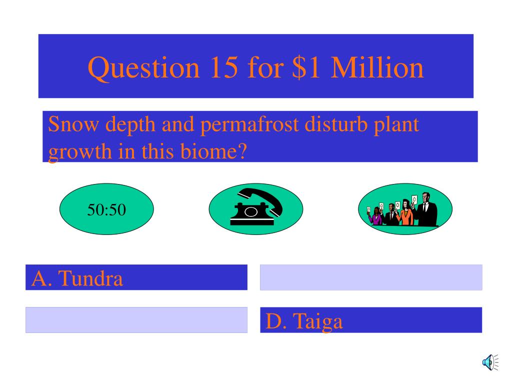 Question 15 for $1 Million