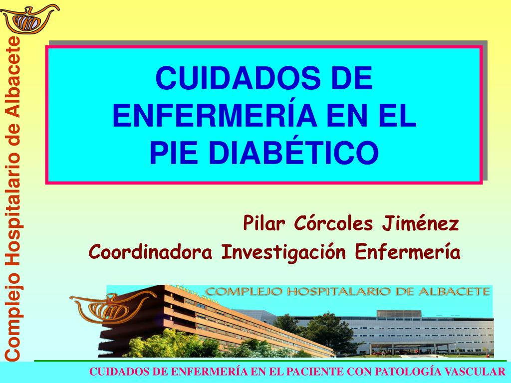 PPT - CUIDADOS DE ENFERMERÍA EN EL PIE DIABÉTICO PowerPoint ...